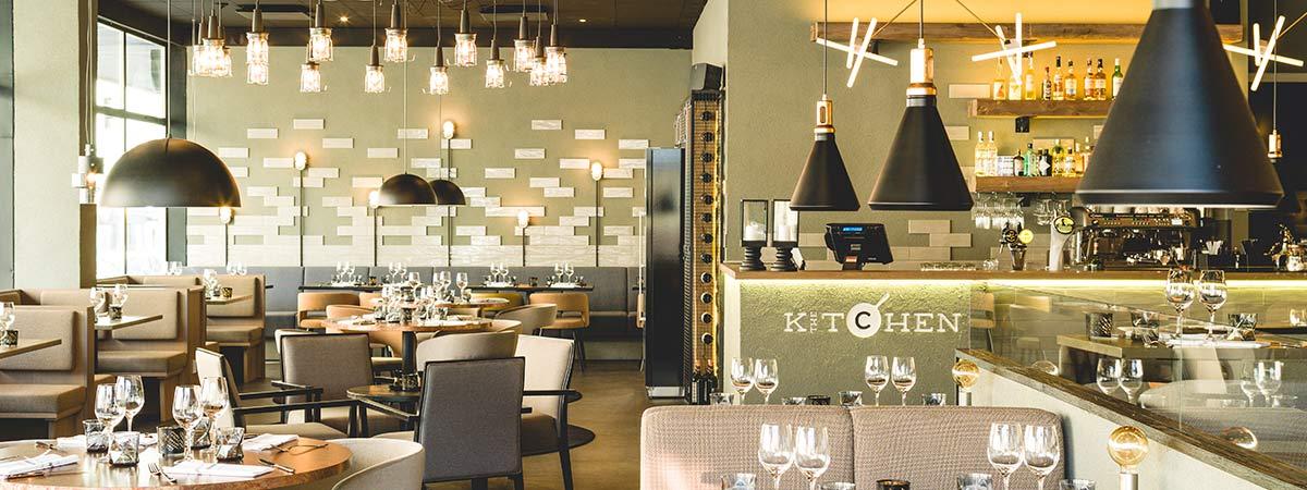 Varaa tilat - The Kitchen - Kolme Kiveä Ravintolat